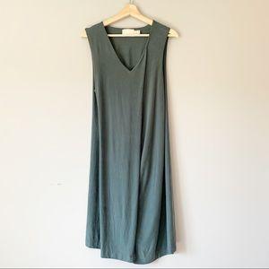 Cynthia Rowley Cupro Layered Tank Dress Size XL